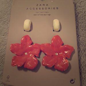 ❤️ Zara 2 pack Earrings ❤️
